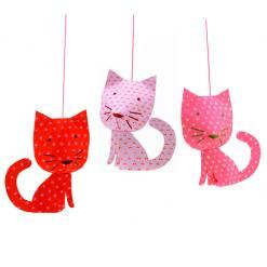 paperikoristeet kissa